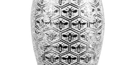 """""""Silver"""" Bee Vase"""