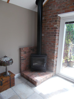 Dunsley Avance with twin wall and brick