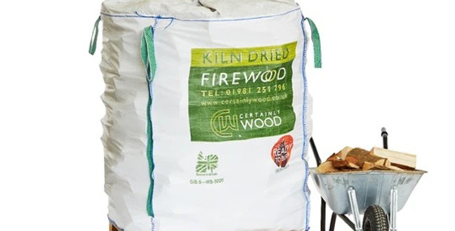 Kiln Dried Logs - Bulk Bags choice of M or L