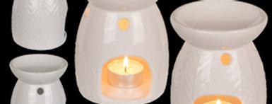 White Ceramic Oil Burner
