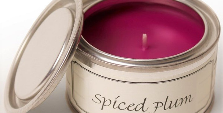 Spiced Plum candle