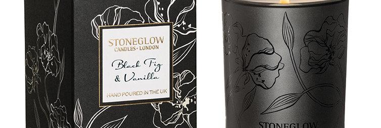 Stoneglow Black Fig & Vanilla Tumbler Candle