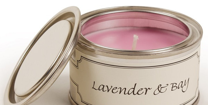 Lavender & Bay candle