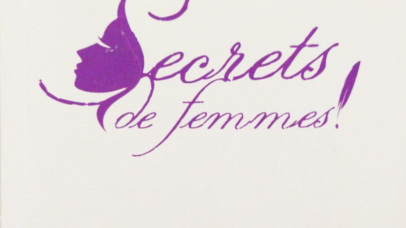 Livre Secret de femmes