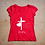 "Thumbnail: T-shirt KARIS "" Sa grâce nous favorise"" Rouge"