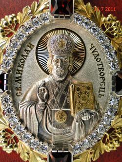 Панагия Св. Николай Чудотворец