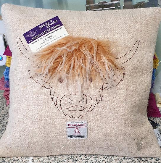 Hairy Coo Cushion.