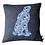 Thumbnail: Hare on Harris Tweed cushion