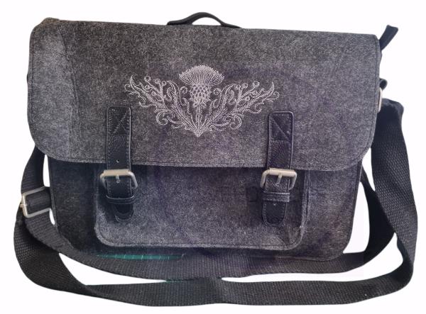 Thistle satchel