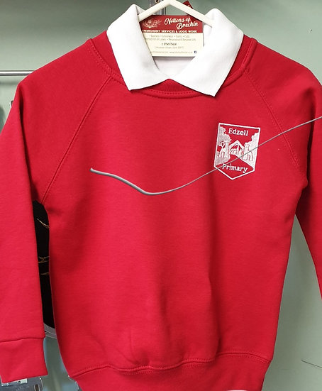 EDZELL ...jumpers. Red.