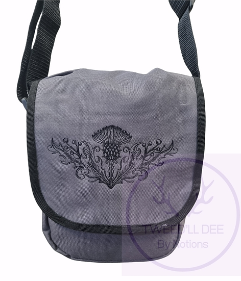 Thistle, mini reporter bag