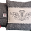 Thumbnail: Harris Tweed cushion..herrring bone & thistle on cream