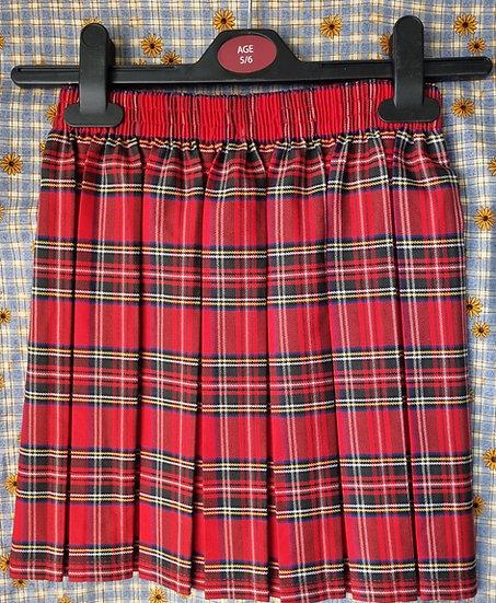 Edzell Primary, skirts