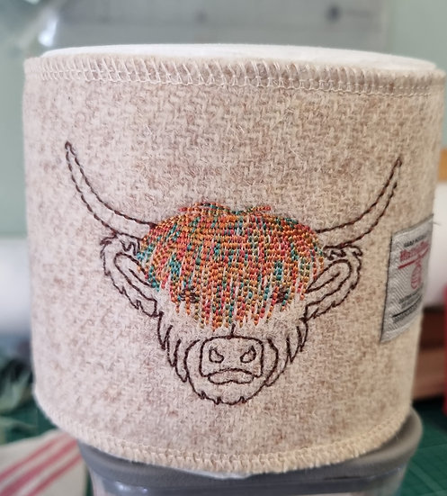 Coo for your Loo...Harris Tweed Wrap