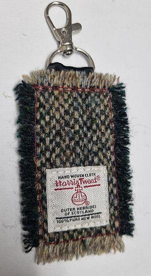 Harris Tweed key fob no 2