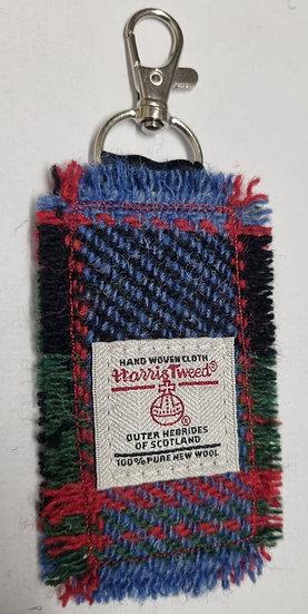 Harris Tweed key fob no 4