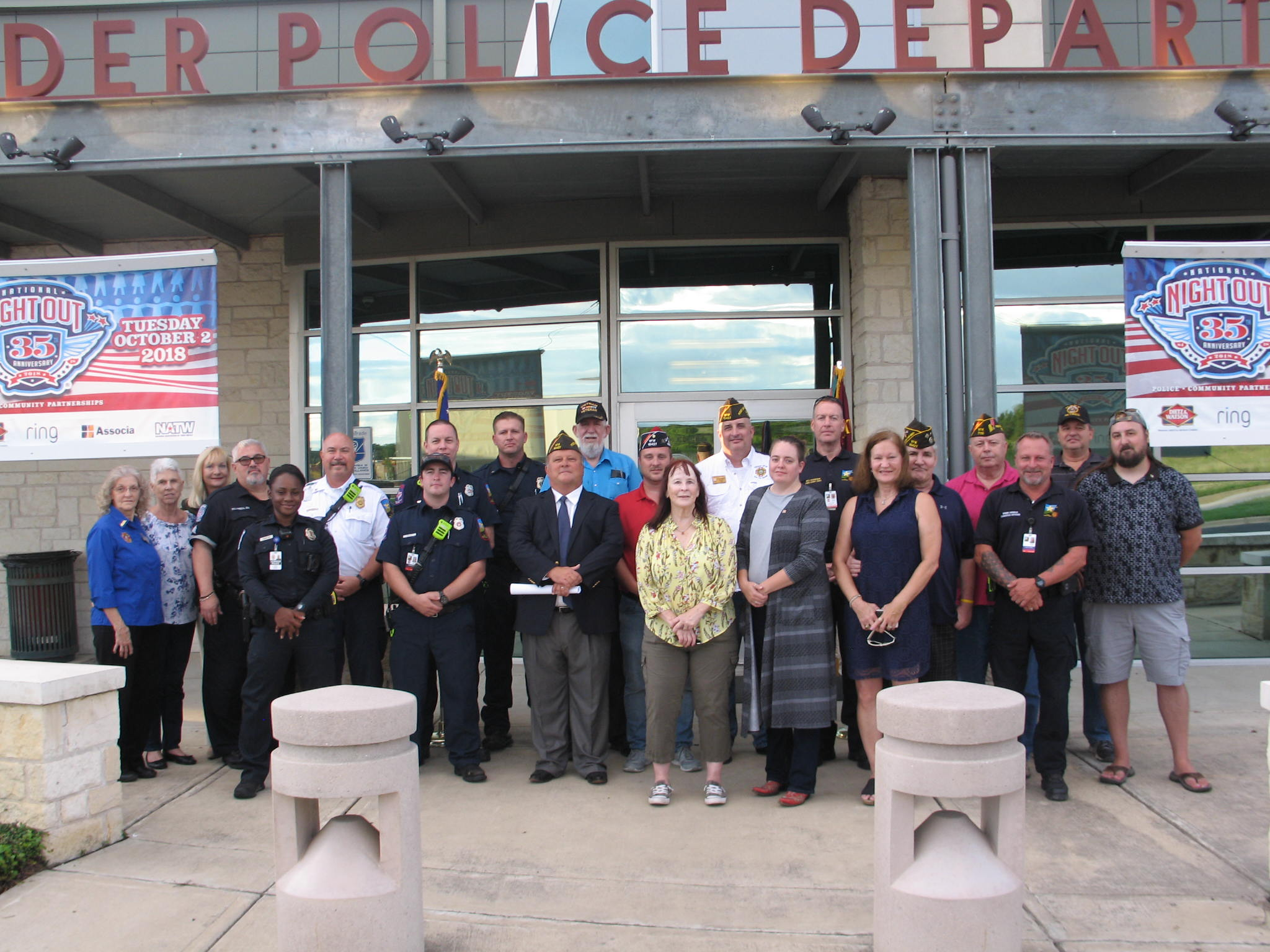 2018 Sep 11 - Patriots Day Leander PD an