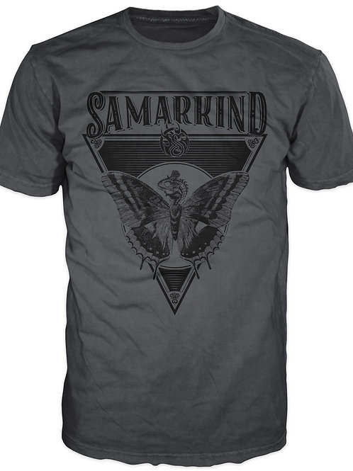 Samarkind Grey Dino Tee - Mens