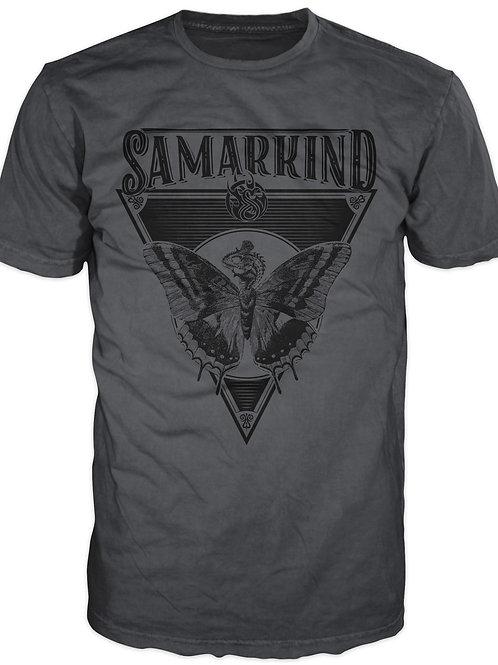 Samarkind Grey Dino Tee - Mens