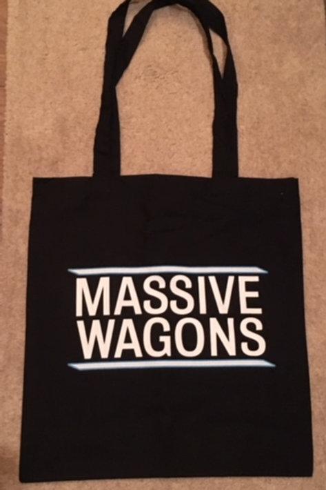 Massive Wagons Stacked Tote Bag