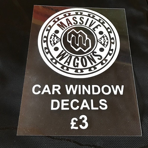 CAR WINDOW DECAL