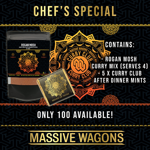 The Curry Club - Chef's Special