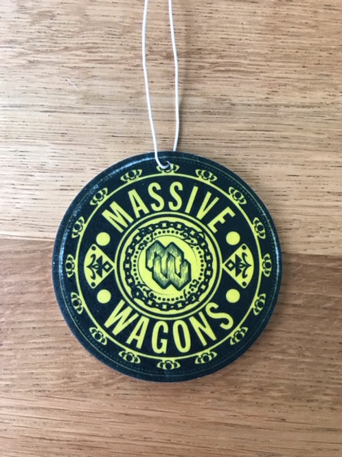 Massive Wagons - Air Fresher in Citrus