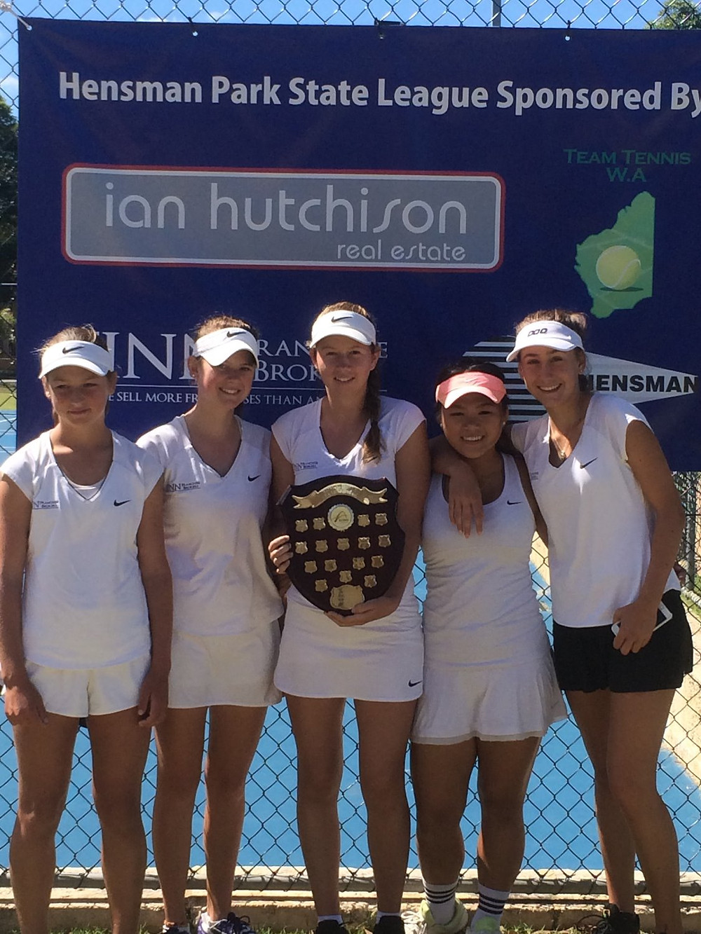 The Hensman Park State LKeague Girls team have woin their second consecutive title defeating