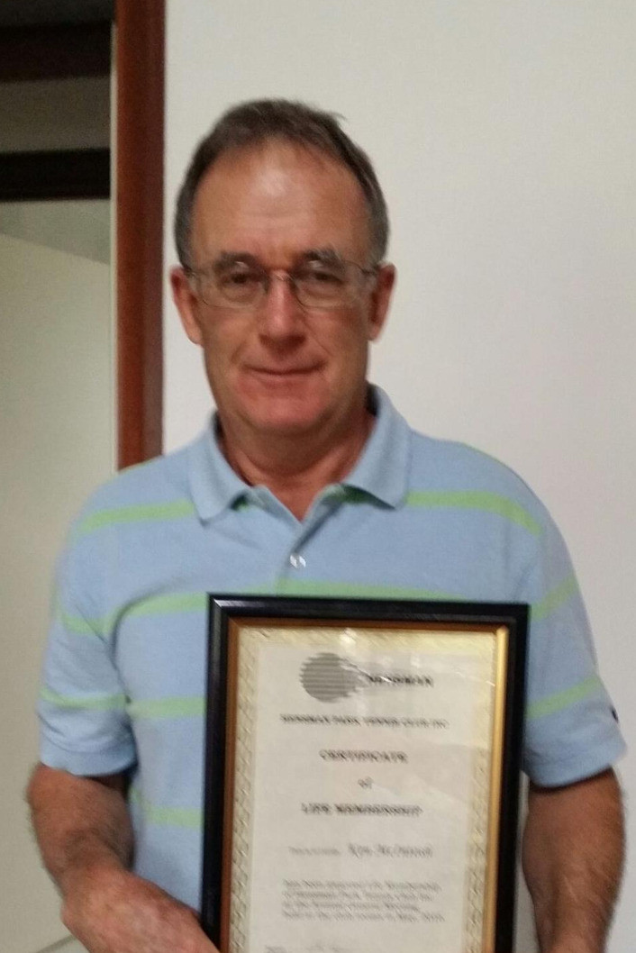 Congratulations to Ken McIntosh being elected a Life Member at our recent AGM - a richly deserved honour