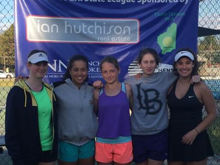Ladies win Division 1