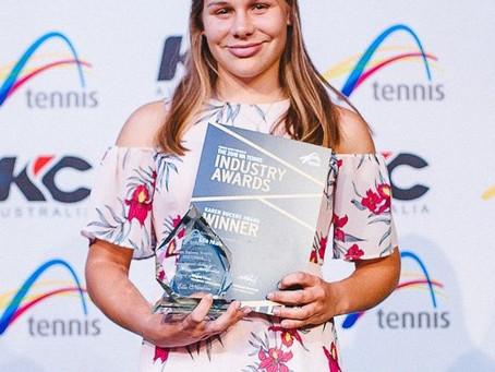 Ella Nurkic wins Karen Bucens Award