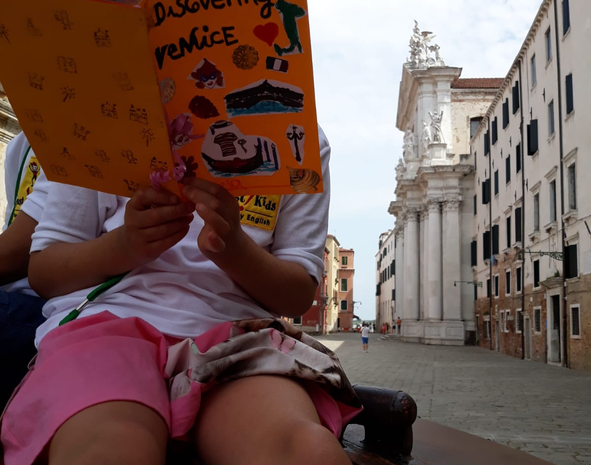 Create your book about Venice