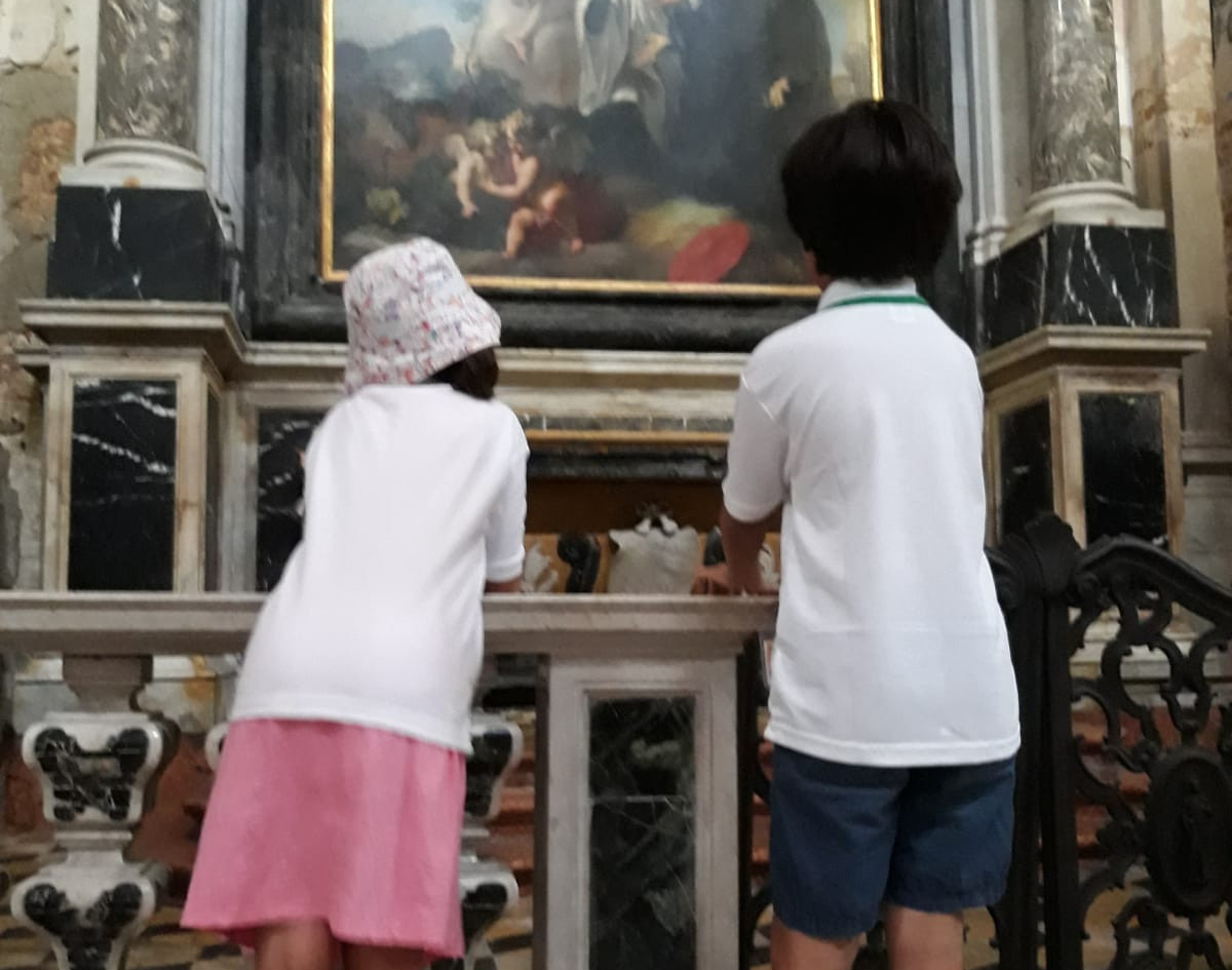 Walk and Art for kids in Venice