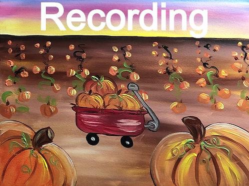 Pumpkin Patch - Live Recording