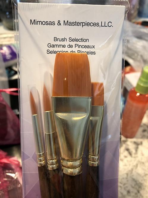 Extra Set of Premium Brushes