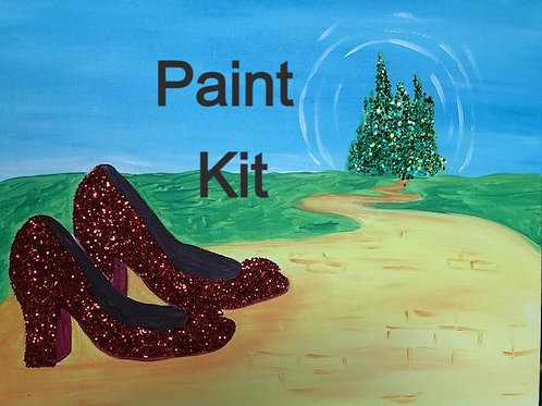 Ruby Slippers Paint Kit 3/19/21 - 7 PM Eastern Time