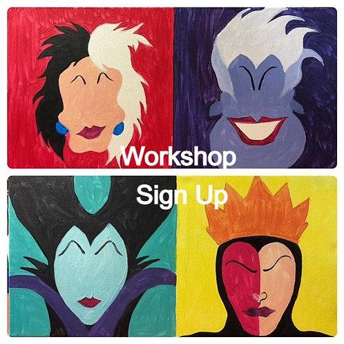 Villain Workshop 5/8/21 at 7pm Eastern Time