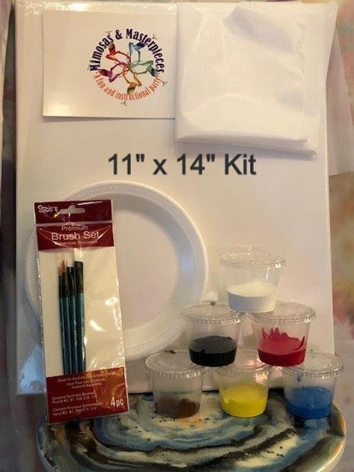 "Standard Paint Kit (11"" x 14"")"
