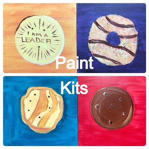 Pop Art Paint Kits 4/3/21