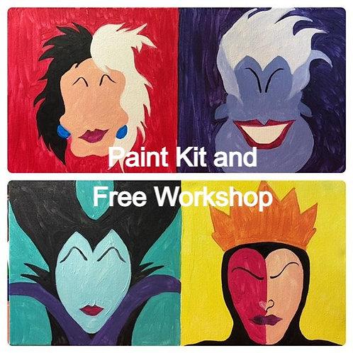 Villain Workshop Paint Kit  5/8/21
