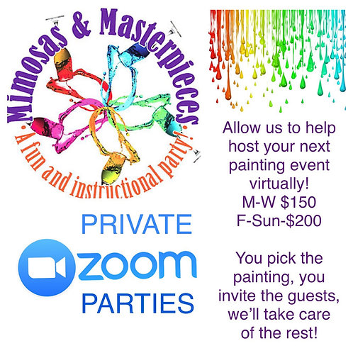 Private Zoom Parties