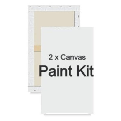 "Duo Paint Kit - Specialty Size (2 x 10""x 20"")"
