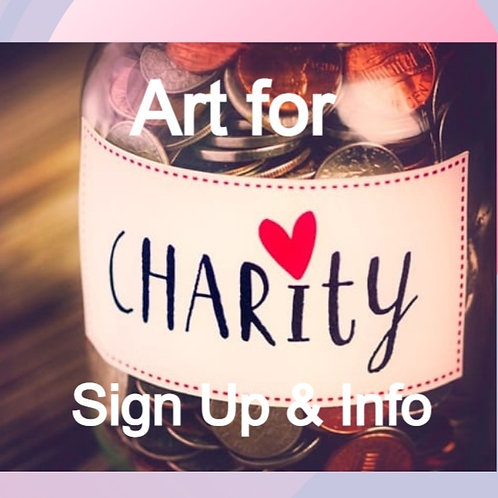 Art for Charity Info -6/17/21 at 8pm Eastern Time