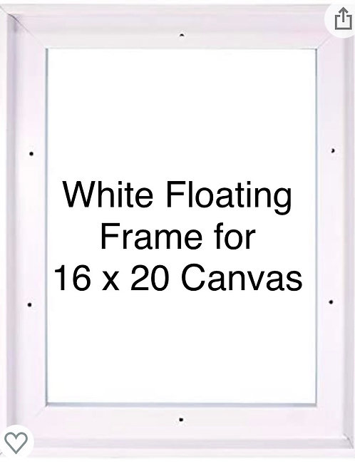Floating Frame for 16x20 Canvas
