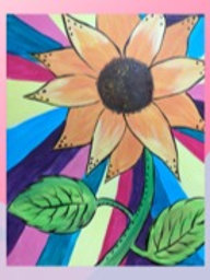Rainbow Sunflower Sign Up -5/13/21 at 7pm Eastern Time