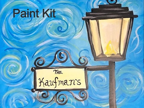 Lamp Post - Paint Kit for 11/12/2020 8pm Eastern Time
