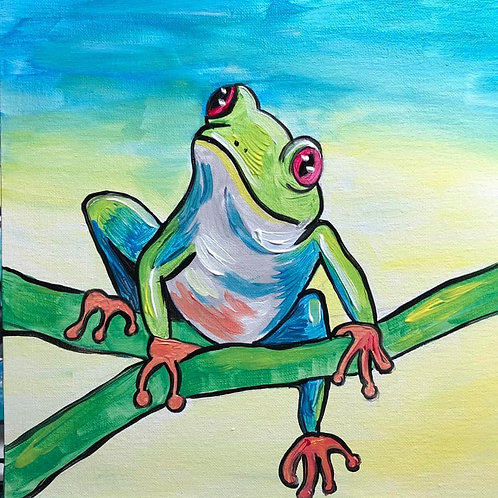 Hanging Out Frog - Live Recording from Kid Camp 2020
