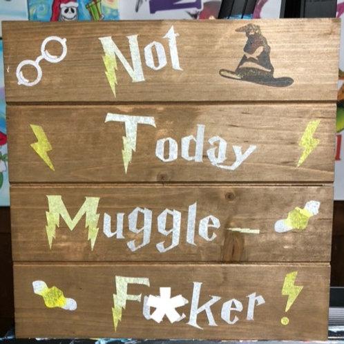 Muggle Wooden Board Paint Kit