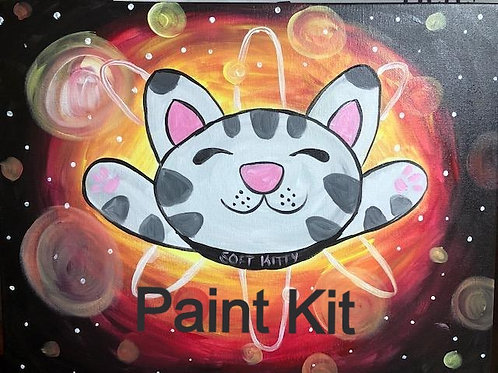 Soft Kitty - Paint Kit for 10/29/20 8pm Eastern Time