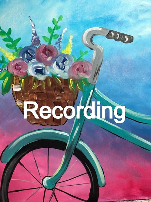 Spring Bike Recording